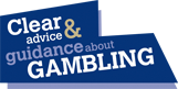 Logo for clear advice and guidance about gambling.